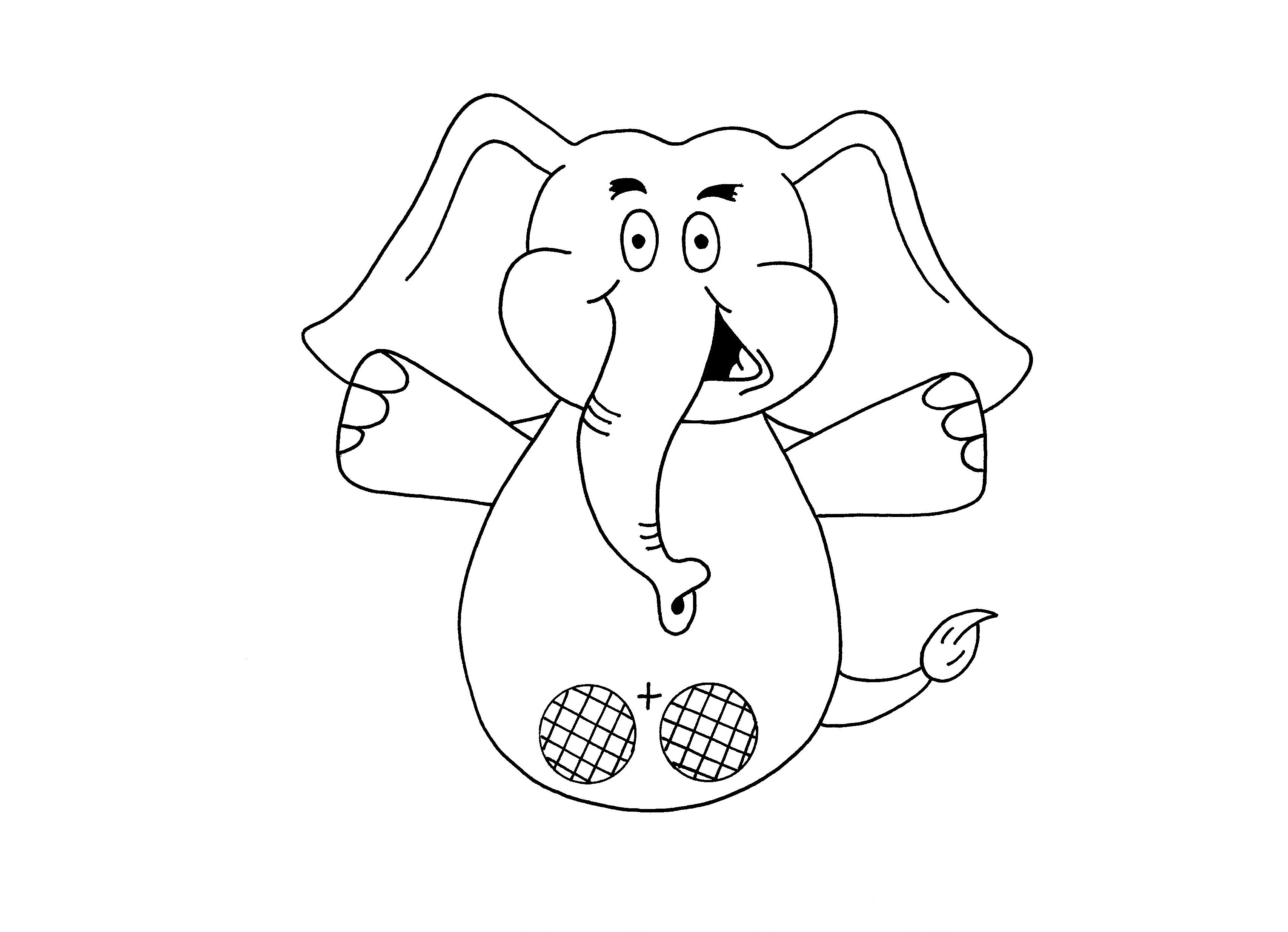 paper finger puppets templates - printable elephant puppet bing images