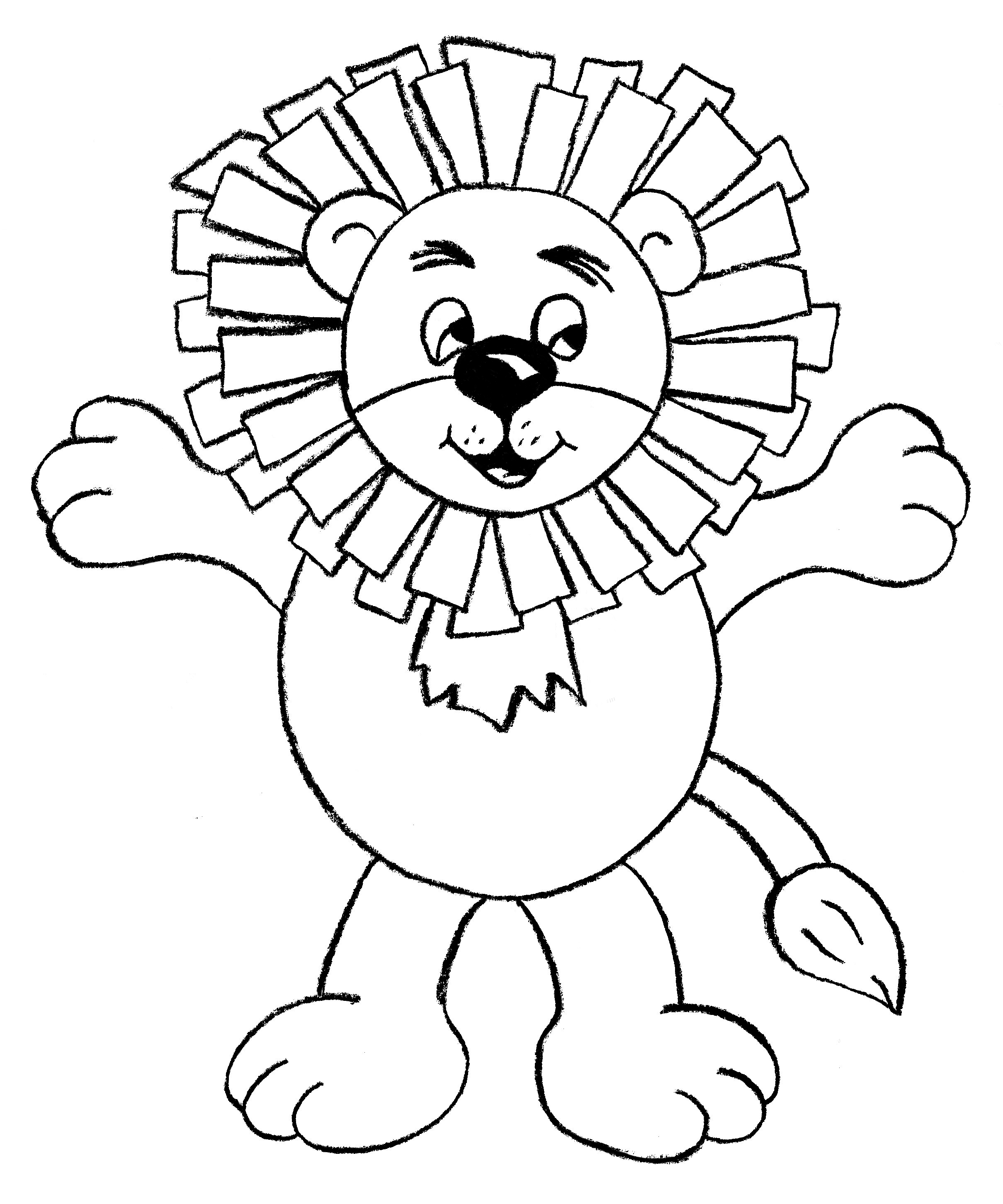 Download pdf lion finger puppet for Anansi the spider coloring pages