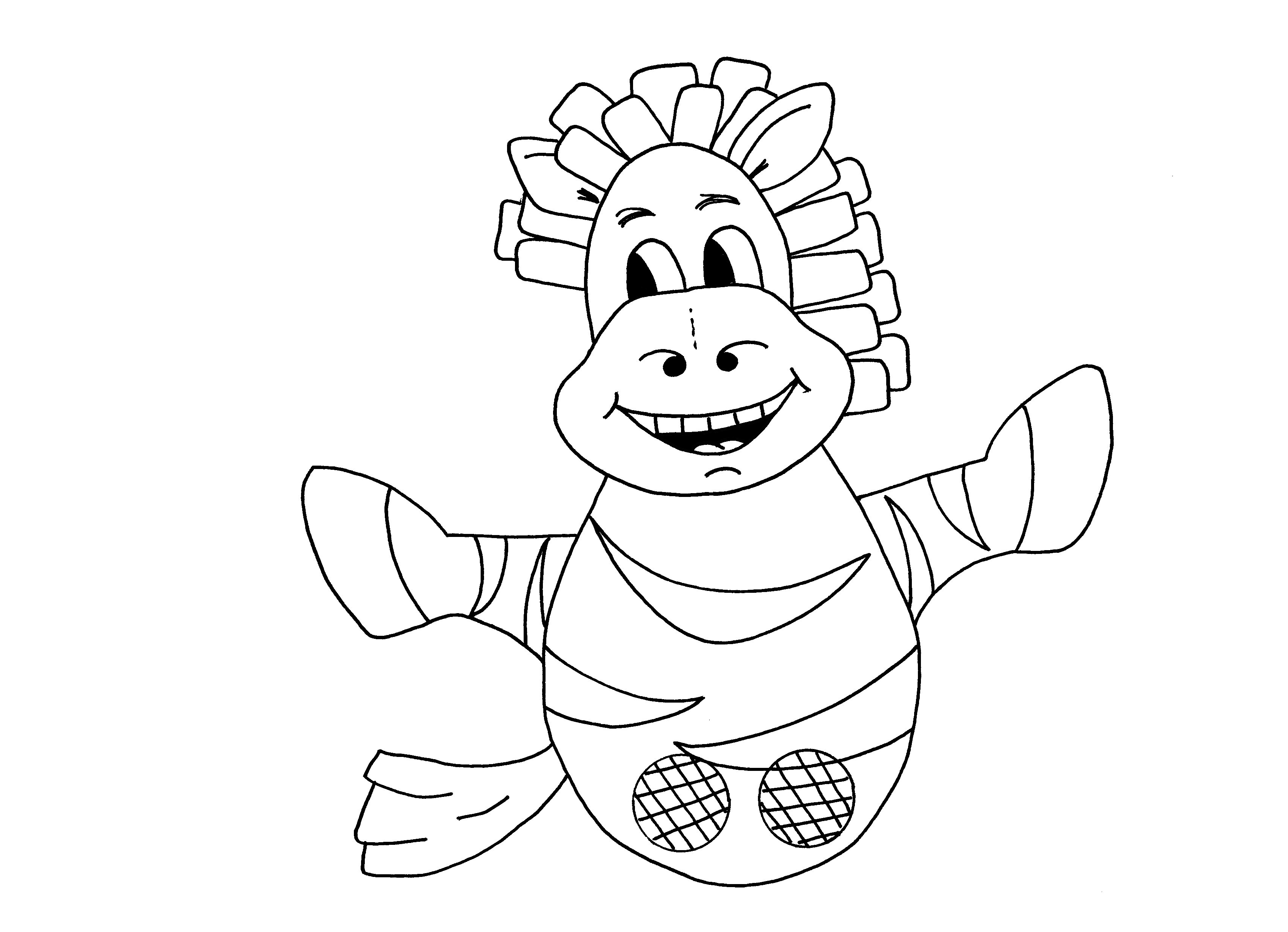 Download pdf zebra colouring sheet for Anansi the spider coloring pages